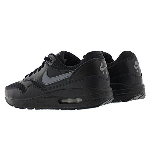 Nike Air Max 1 (GS), Basses Homme Noir
