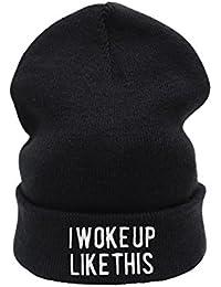 I Woke Up Like This Beanie Hat