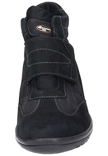 Waldl?ufer Damen Stiefel, Halbschuhe schwarz, 990593-1 schwarz