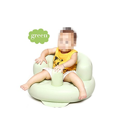 Inflatable Toddlers Sit Me Up Stool Training Seat Dining Bath Chair Baby Sofa Green 41FGocCsxCL