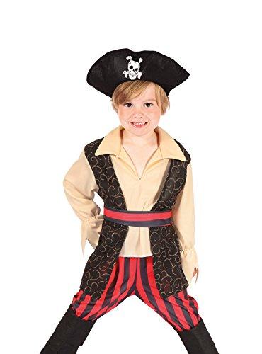 Boland 82238 - Kinderkostüm Pirat Rocco, (Krieger Die Kostüme Weste)