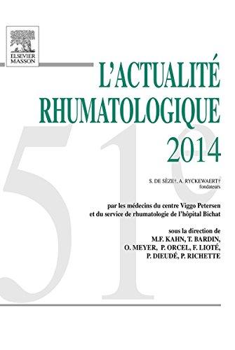 L'actualité rhumatologique 2014 (French Edition)
