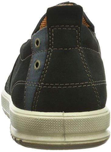 Ecco Ennio Black/Black Basalt/Old Silla Herren Sneakers Schwarz (Black/Black Basalt/Old Silla51052)