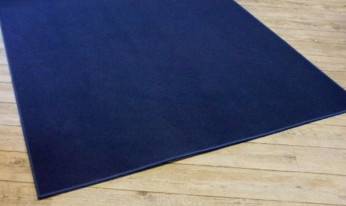 Ta-Bo Lifestyle Trend Uni Teppich Joker dunkelblau, 250x200 cm