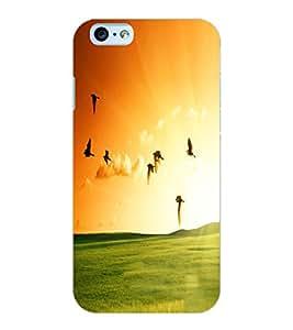ColourCraft Beautiful Birds Design Back Case Cover for APPLE IPHONE 6S