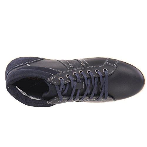 Unze Hommes 'Lawton' Casual Trainers Chaussures Taille 7-12 Marine de guerre