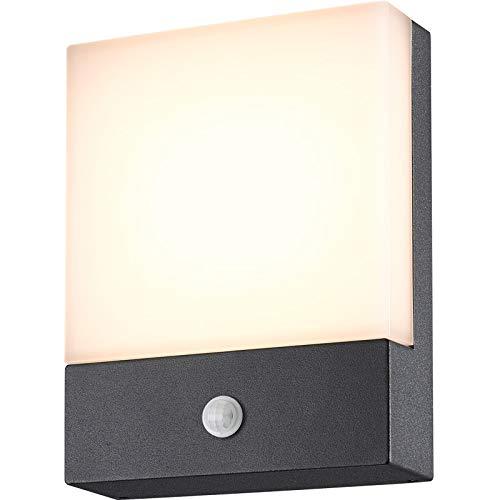 Topmo-plus 8W LED Luz pared Exterior Sensor Movimiento