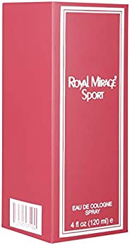 Royal Mirage Classic Sports - Eau De Cologne - EDC - 120ml