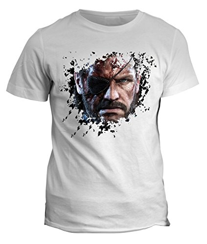Tshirt Metal gear snake Big boss - video games maglietta console - in cotone by Fashwork