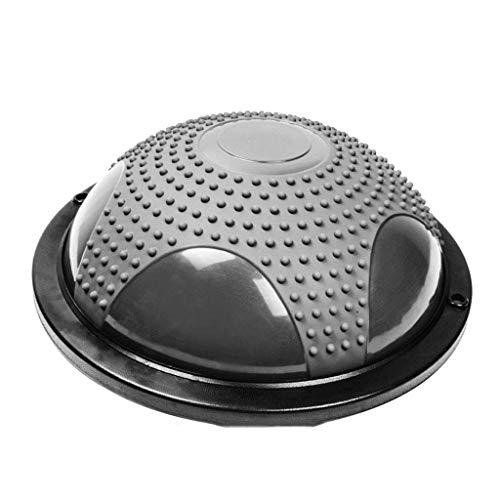YDXYZ Yoga-Hemisphäre Balance Trainer Ball for die Ausübung Elite Ausrüstung Home Office Gym Workout Überlegene Balance Ball Heimtraining (Color : Gray)