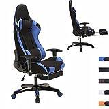 OUTAD Racing Chaise de Bureau Gaming Chair Chaise de Bureau pivotante Siège Sport...