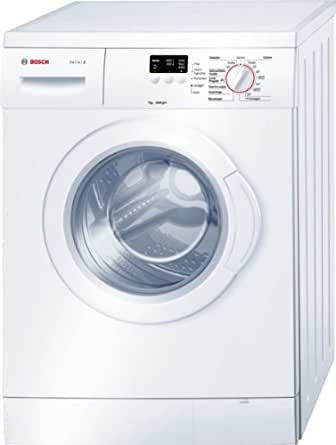 Bosch Serie 2 WAE20037IT Freestanding Front-load 7kg 1000RPM A+++ White washing machine - Washing Machines (Freestanding, Front-load, White, Buttons, Rotary, Left, White)