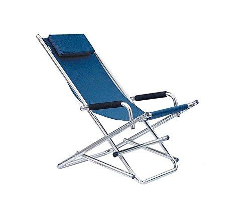 Plast BP0020 - Chaise à bascule (bleu)