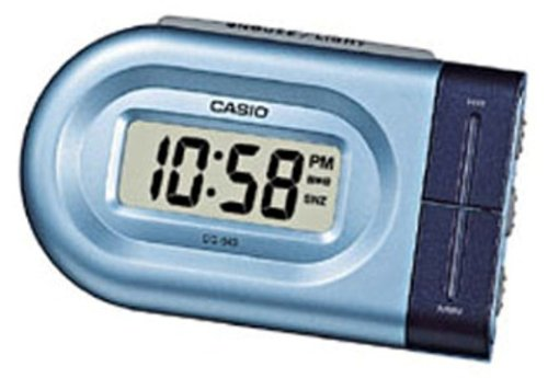Casio-DQ-543-2EF-Reloj-despertador-digital-cuarzo-color-azul