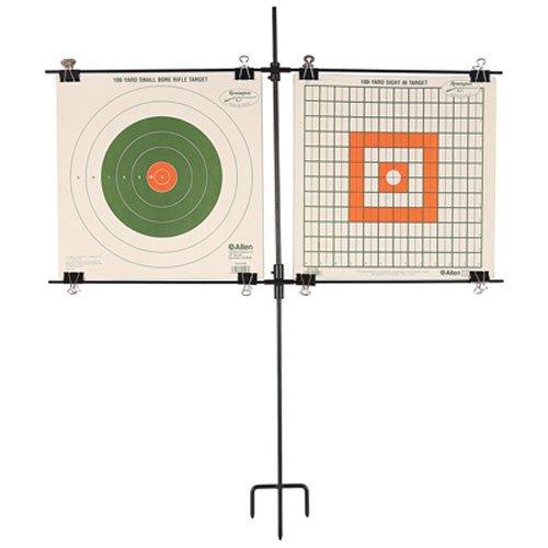 Allen Stahl Rahmen Papier Target Rack, für 2Ziele -