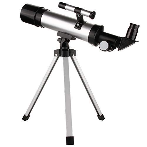 FGKING Teleskope,135x50mm Astronomischer Refraktor-Teleskor Telescope-Refraktor für Anfänger und...