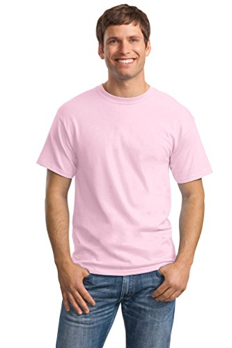 Hanes Big Mens ComfortSoft® T-Shirt Pale Pink