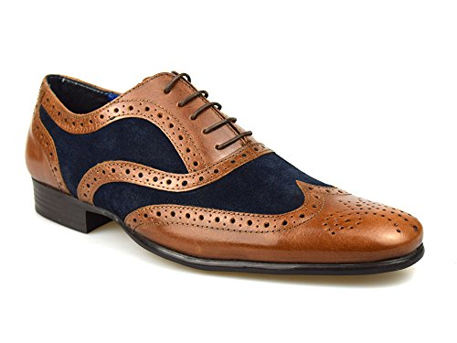 red-tape-carn-tan-leather-suede-tan-navy-mens-brogue-shoes-tan-navy-8-uk