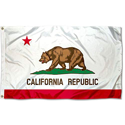 Sports Flags Wimpel Company State of California Fahne, 91 x 152 cm -