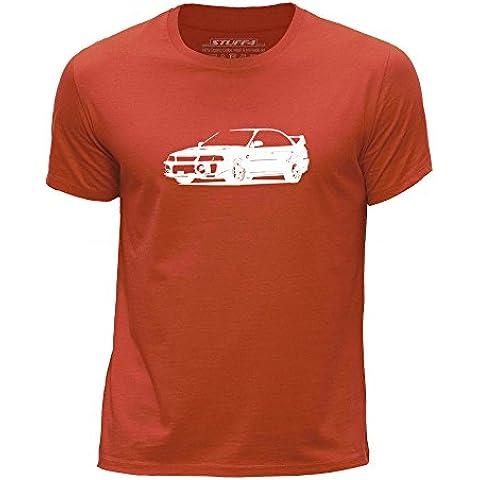 STUFF4 Chicos/Edad de 3-4 (98-104cm)/Naranja/Cuello redondo de la camiseta/Plantilla Coche Arte / Evo V/5