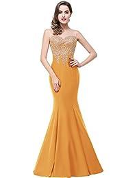 99cfd901ed1c2 Babyonlinedress Sexy Elegant Robe de soirée/Bal/Cérémonie Forme Fourreau  Longue au sol sans