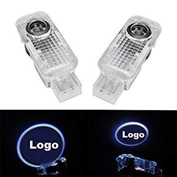 VISTARIC Paar 5W LED Tür Willkommen Embleme Licht mit Auto Logo für Audi Special