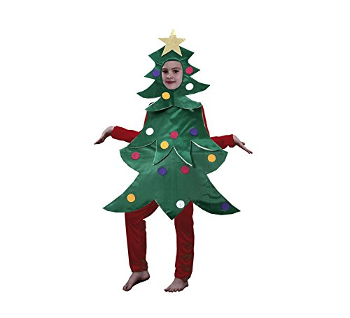 Imagen de disfraz de árbol de navidad en varias tallas para niños
