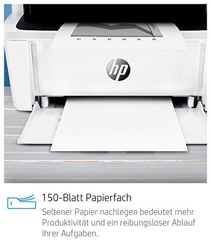 Hp Laserjet Pro M28a Laser Multifunktionsdrucker (Schwarzweiß Drucker, Scanner, Kopierer, Usb) Weiß