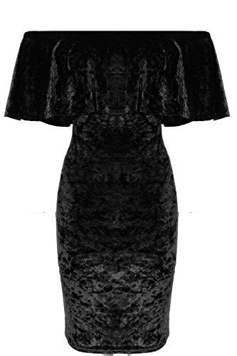 Comfiestyle - Robe - Moulante - Sans Manche - Femme Noir