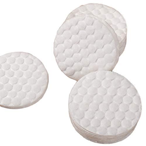 SXY 60 Pezzi/Sacchetto di struccante per Il Trucco Tamponi di Cotone Lavabili Olio detergente per la Pulizia Cura della Pelle Cura del Viso Make Up Salvietta cosmetica (Color : White)