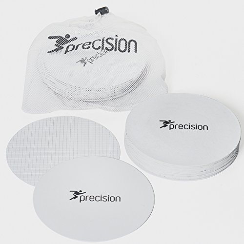 Precision Large Round Rubber Marker Discs - White   Set of 20   rrp  35
