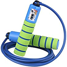 Balala Springseil Kinder Speed Rope mit Z/ähler und Erwachsene Komfortablen /& Anti-Rutsch Griffen f/ür Fitness und Boxen