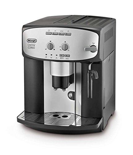De'Longhi Caffe' Corso ESAM2800.SB Bean to Cup, Silver and Black thumbnail