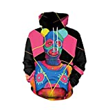 MEIbax Damen Herren Liebhaber Punk 3D Print Party Langarm Pullover Bluse Hoodie Sweatshirt Oberteile Langarmshirt