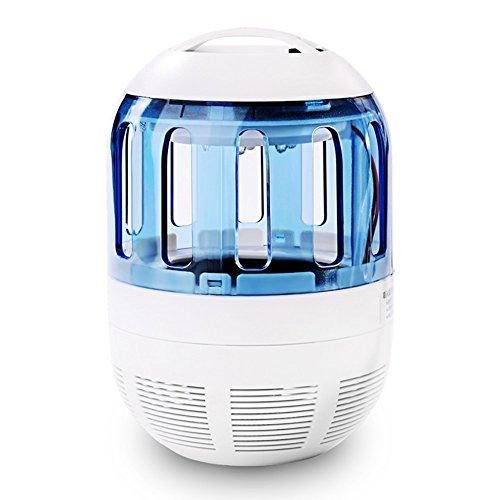 *Insektenvernichter Elektrisch Ultravioletter LED Insektenlampe Indoor Mückenfalle Mücken Beseitiger Insektenfalle UV Mückenlampe mit Ventilator, Frei von Chemikalien für zu Hause von Zuoao*