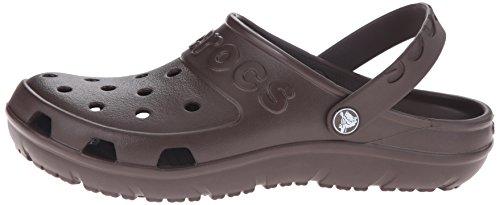 crocs Hilo Clog, Unisex - Erwachsene Clogs, Blau (Navy), 36/37 EU