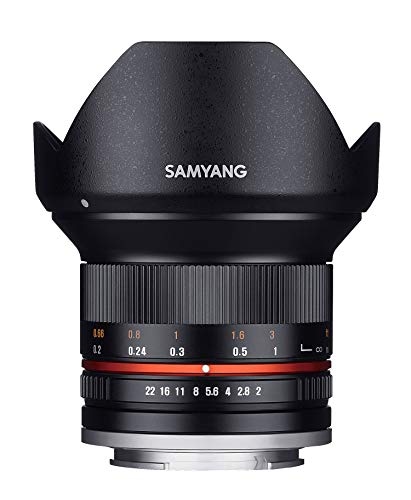 Samyang Objectif 12 mm F2 NCS CS Micro 4/3 Noir