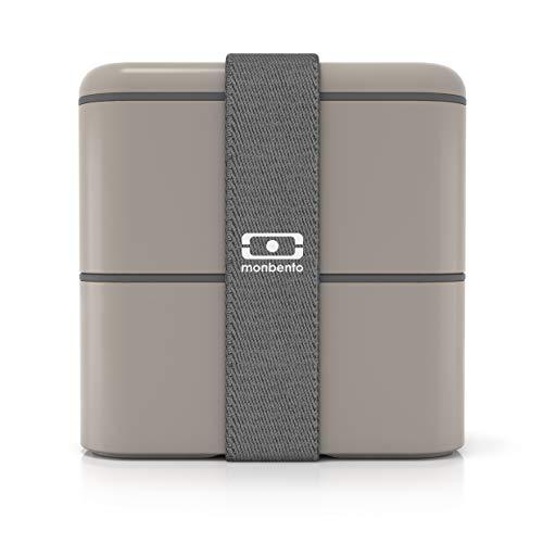 monbento MB Square grau-Die quadratische Bento-Box
