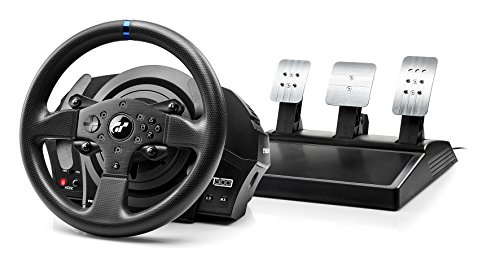 Thrustmaster T300RS GT EDITION - Volante - PS4 / PS3 / PC - Force Feedback - 3 pedales - Licencia Oficial GT Sport