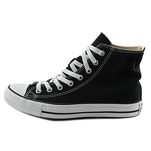 Converse Chuck Taylor All Star Hi Toile Baskets Black-White-Black