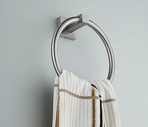 Handtuchring/Kupfer Bad Handtuch hängen Ring/Im europäischen Stil Metall-Anhänger/Runde Handtuchhalter-B