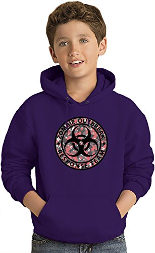 Swat-team Hose (Zombie Response Team Kinder Leicht Kapuzenpullover Lightweight Hoodie For Kids | 80% Cotton-20%Polyester| 14-15 yrs)