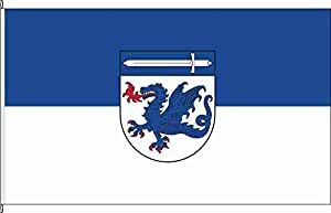 Flagge Fahne Bannerflagge Munster - 80 x 200cm