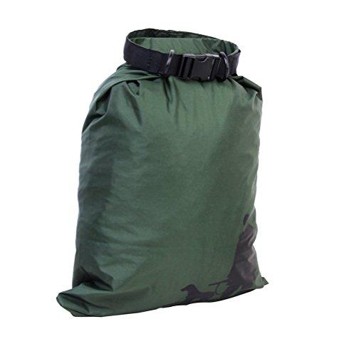 UEETEK 3 Stück / Set Wasserdichte Trockenbeutel,Ultra-light Nylon Packsacks für Camping Bootfahren Kajakfahren Rafting Angeln, ideal zum Speichern von Mobiltelefonen, Kamera, Schuhe, Armeegrün,(1,5 L + 2,5 L + 3,5 L) - 5