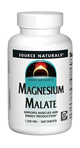 Source Naturals Shop (Source Naturals, Magnesium Malate, 1250mg, 360 Veg. Tabletten)