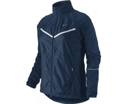 Nike–Giacca da allenamento MF Sfoderati Full Zip Blu Marina