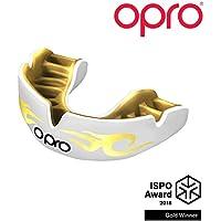 Opro Power-Fit Brillante - Urbano - Bianco/Oro