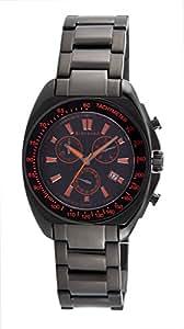 Giordano Chronograph Black Dial Men's Watch - GX1593-55