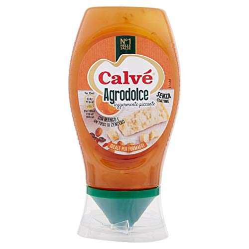 Calve Salsa Agrodolce, Leggermente Piccante - 250 ml