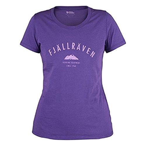 Fjällräven Damen Trekking Equipment W Blusen & T-Shirts Purple